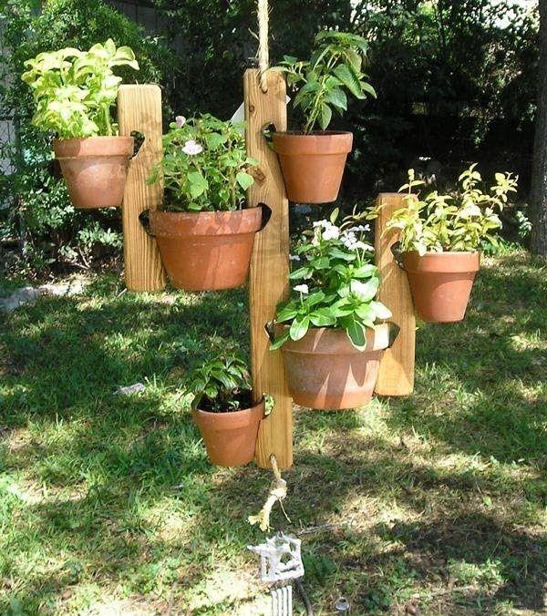 Petal Paddles Porch Pot Hanger Garden Garden Pots