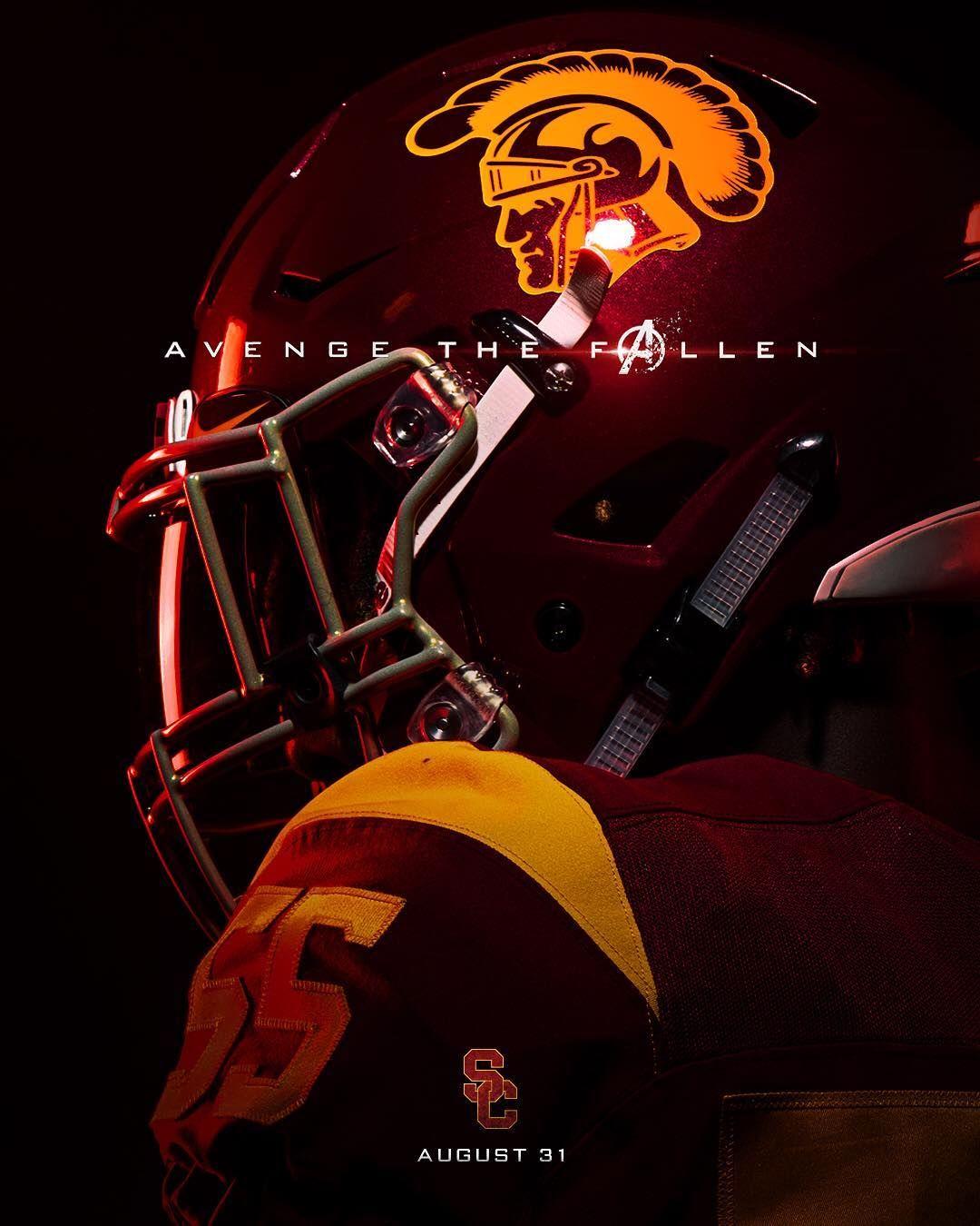 Usc Trojans On Instagram Comeback Season Fighton Usc Trojans Football Usc Football Usc Trojans