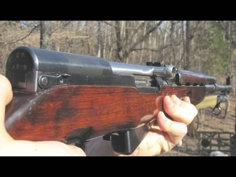 SKS (Russian Model) on hickok45  Reliable and easy to use