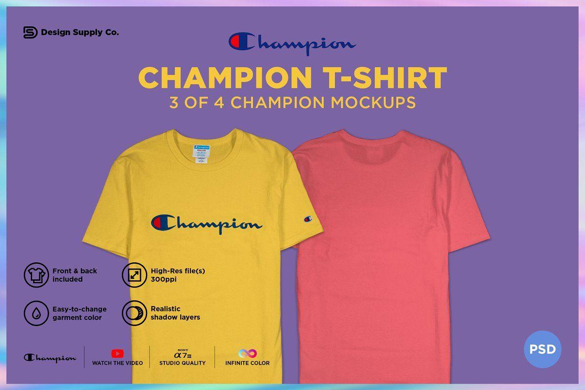 Download Champion T Shirt Mockup Shirt Mockup Tshirt Mockup Clothing Mockup
