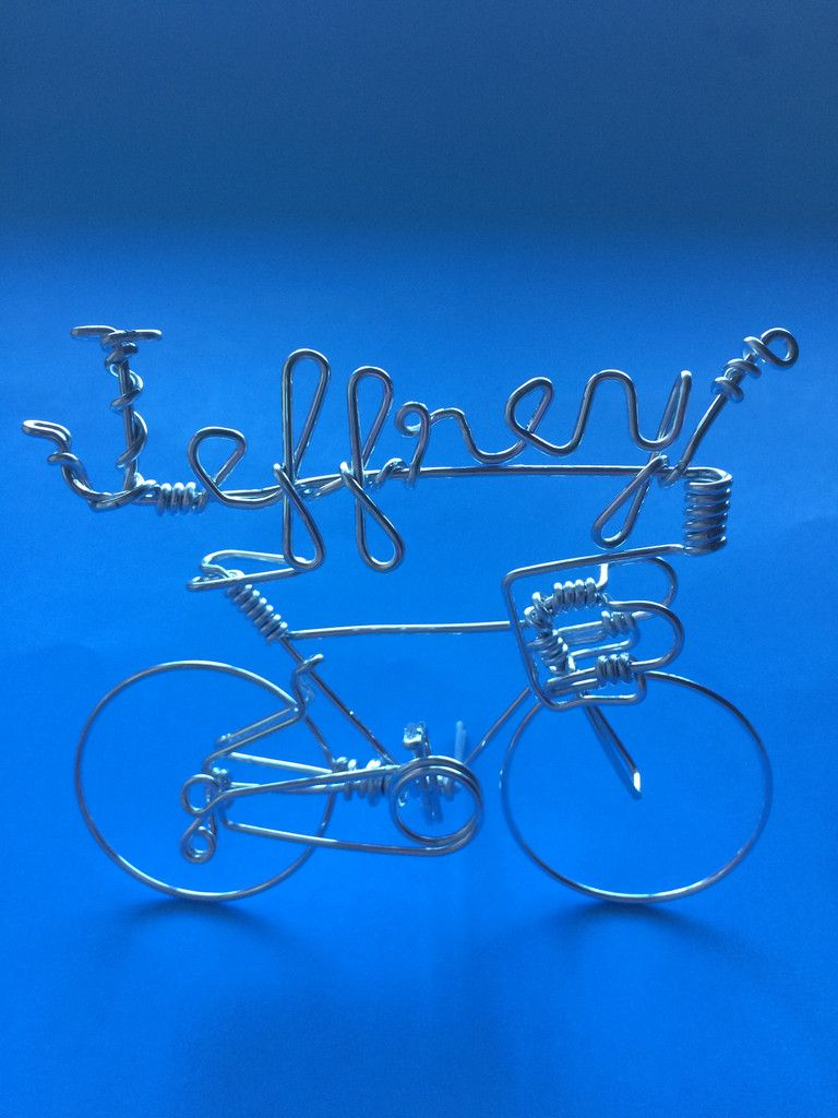 Cute valentine gifts for Cyclists - Custom Your Own Name Bikes
