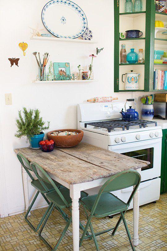 The Figgle Familyu0027s Cozy First Home u2014 House Tour - ideen für küchenspiegel