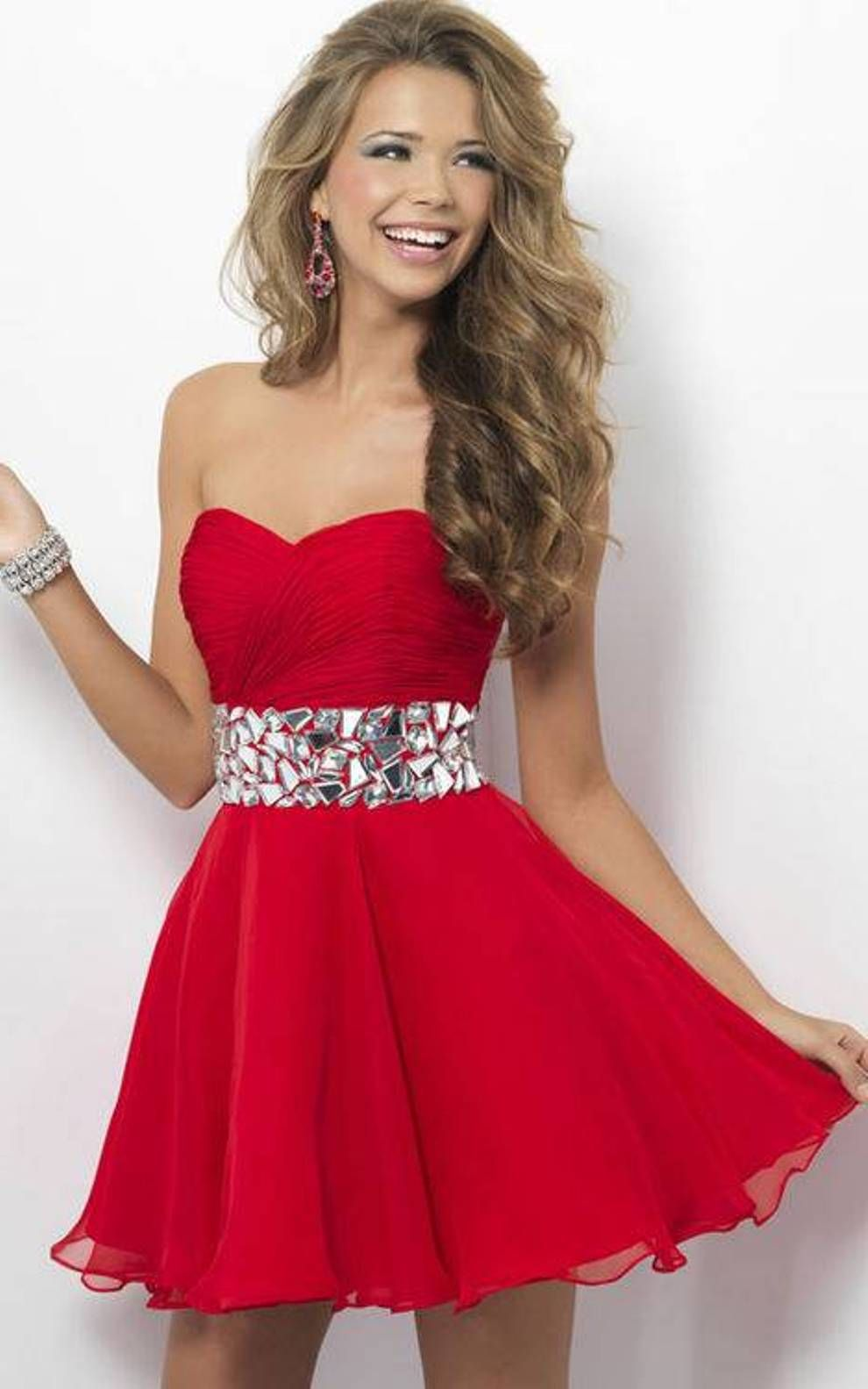 Cheap red prom dresses under 50
