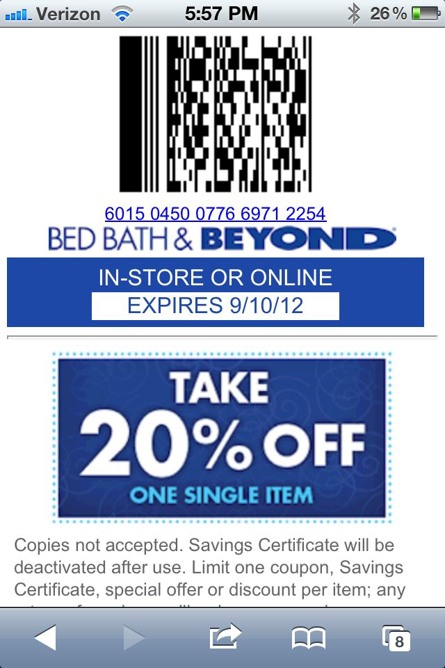 Pin By Mary June On For The Home Free Printable Coupons Printable Coupons Bed Bath And Beyond
