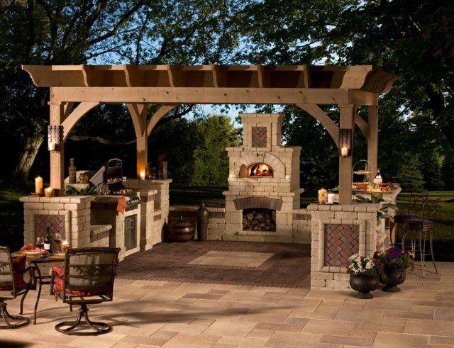 Barbecue extérieur ou four à bois? Cu0027est vous qui décide