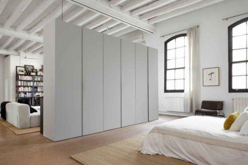 Raumteiler Schlafzimmer ~ Schrank als raumteiler die idee für kleine räume und zimmer