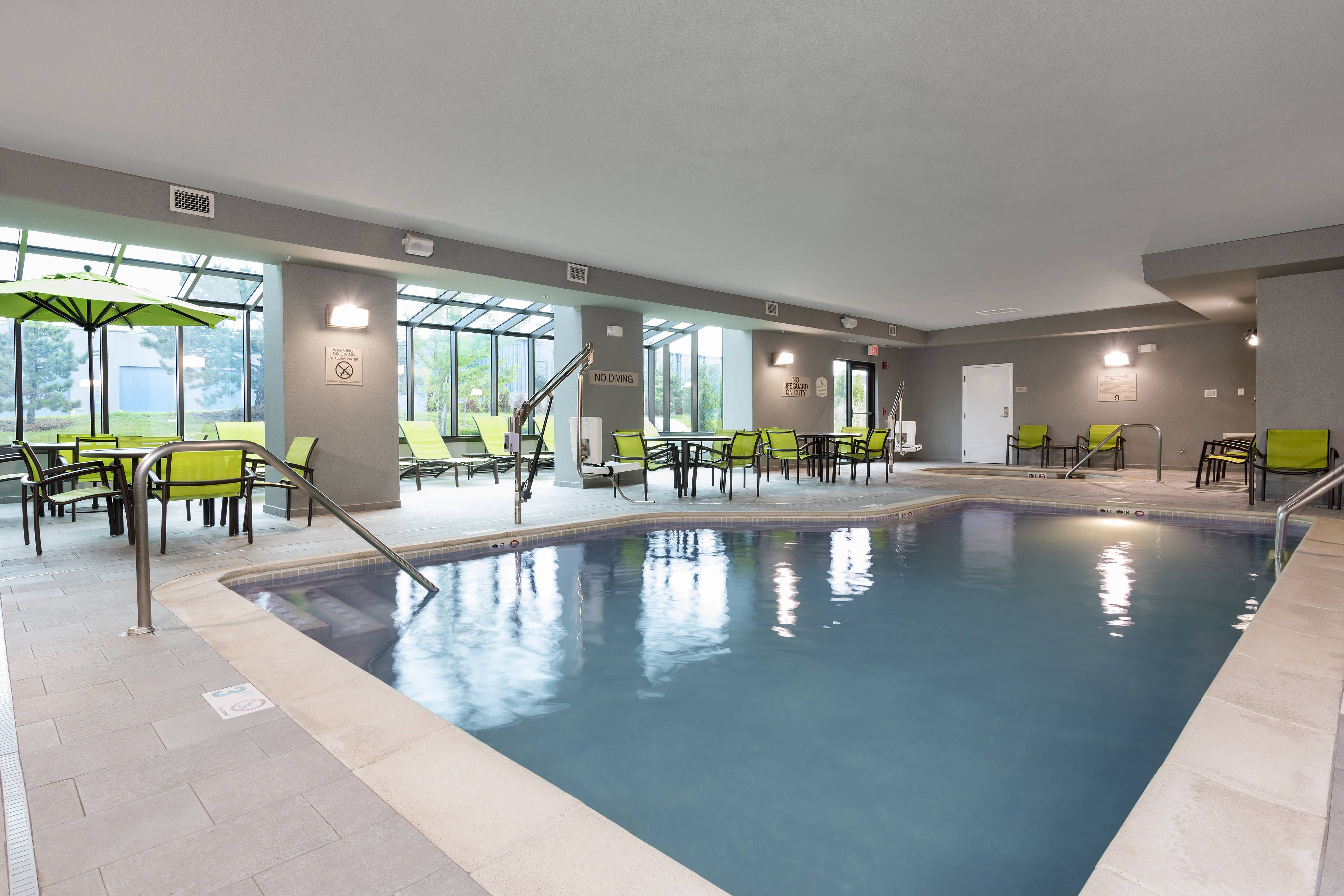 Springhill Suites Detroit Auburn Hills Indoor Pool Comfort