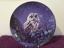 Wedgewood China Plate (NIGHT OWLS) Night Messenger