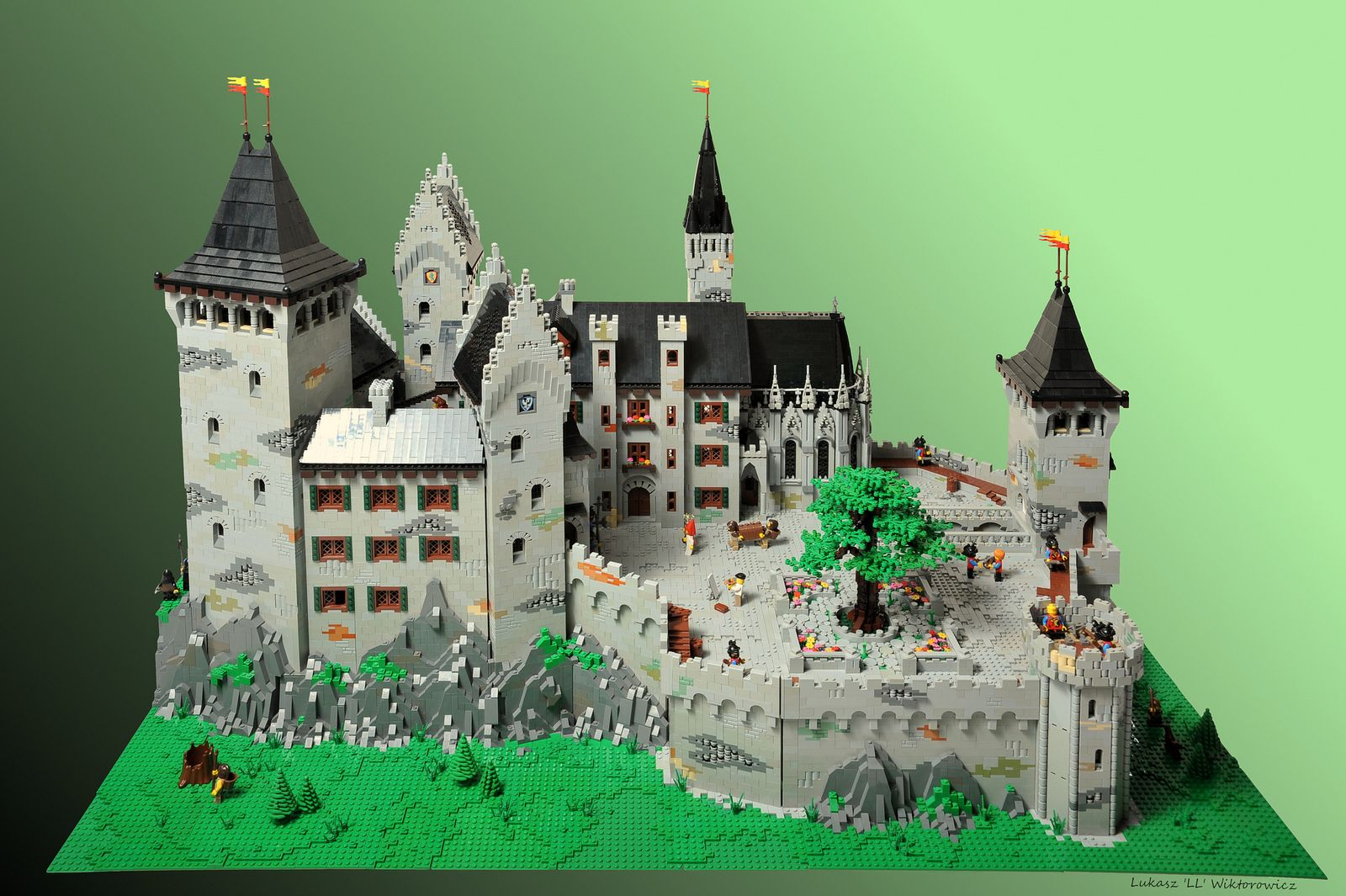 Christopher And Isabell S Castle Lego Architecture Lego Castle Lego Design