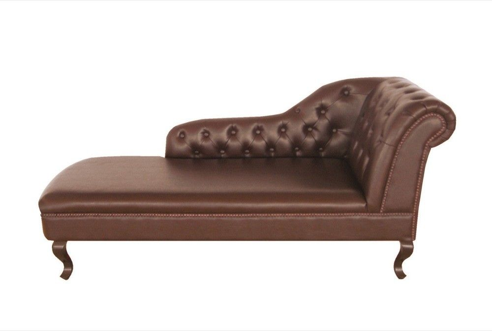 Antique Brown Leather Chesterfield Chaise Longue | dining room ... on antique sofas, antique chaise couch, antique chair, antique fabric, antique chaise lounge, antique armchairs, antique egg, antique daybed, antique dresser, antique books, antique glider, antique recliner, antique parasol, antique beds, antique fainting couch, antique commode, antique french country, antique lighting, antique fountain, antique chalice,