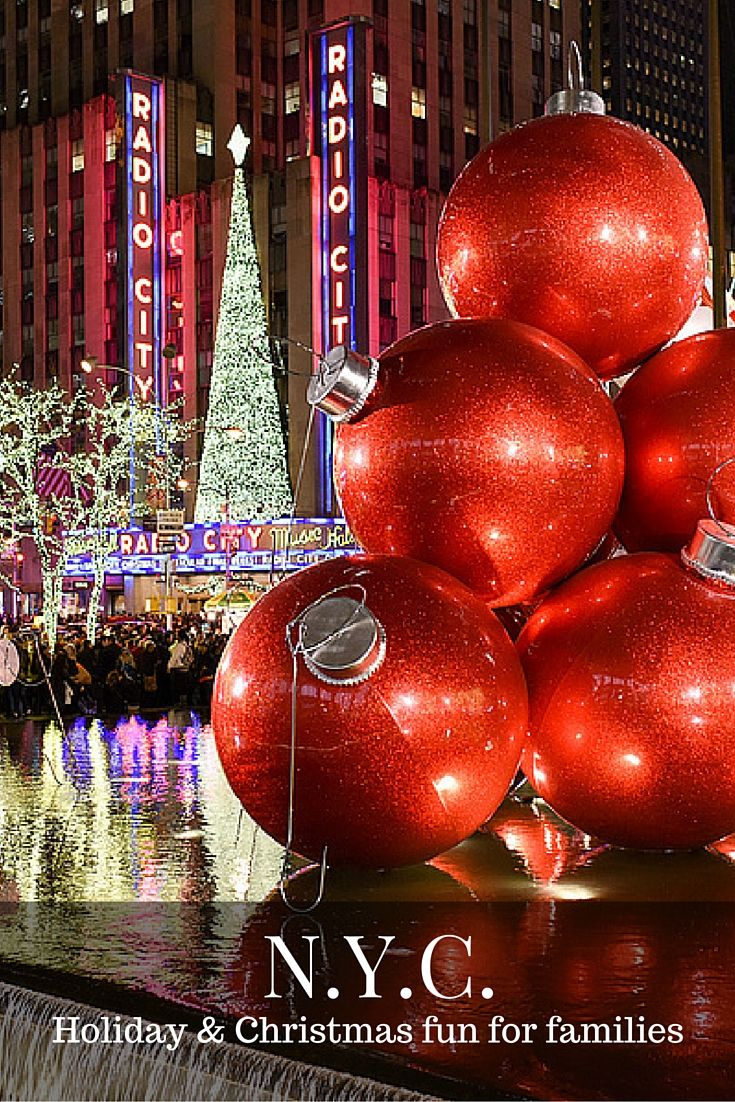 Holiday Bucket List: Christmas & Holiday Fun in NYC! | Pinterest ...