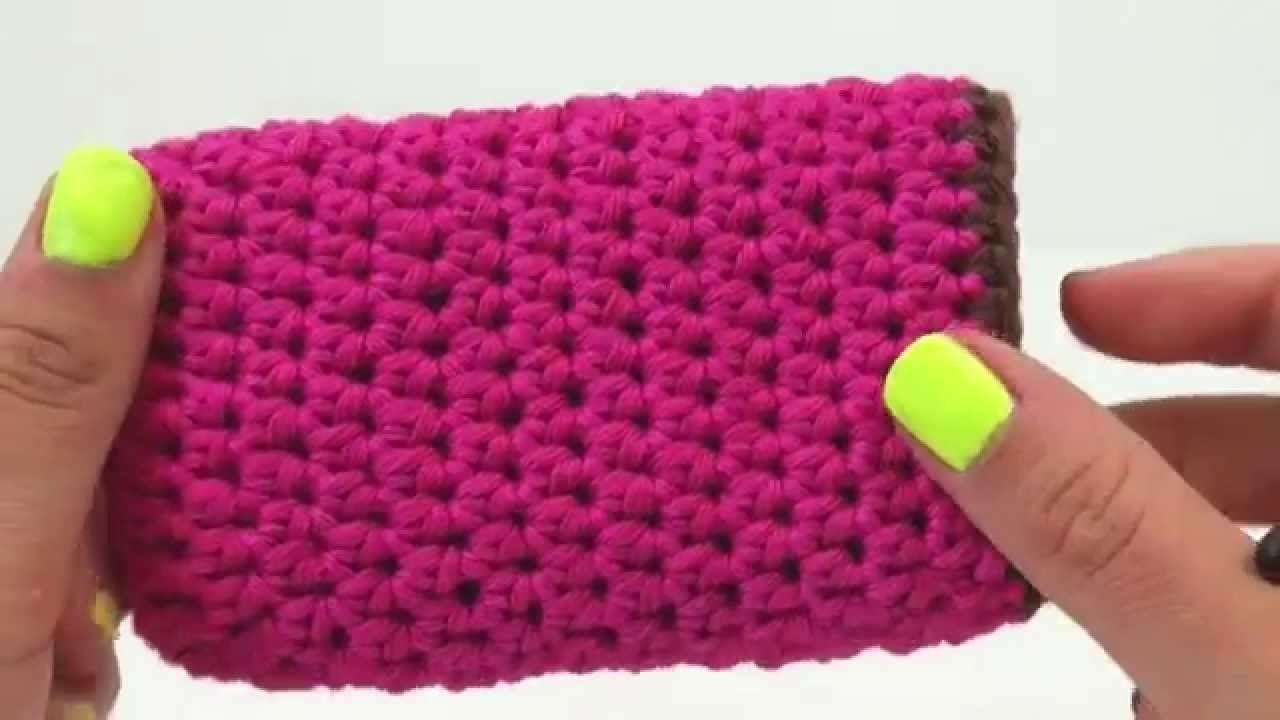 Häkeln Handyhülle Case Handy einfach Samsung iPhone Smartphone pink ...