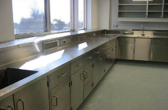 New Lab Cabinets and Countertops