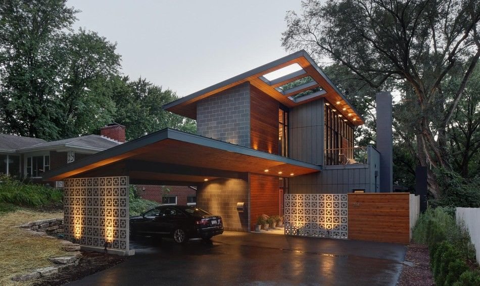 Transformation radicale d\'une banale maison en résidence ...