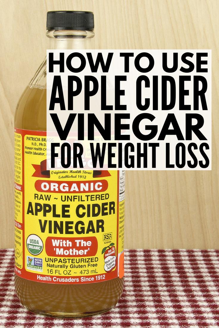 How To Use Braggs Apple Cider Vinegar For Weight Loss Braggs Apple Cider Apple Cider Vinegar And Cider Vinegar