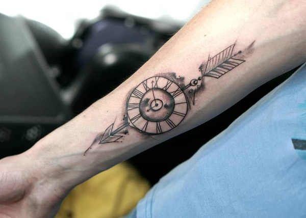 Tatuaż Strzała Znaczenie Historia 75 Zdjęć Pomysł Na
