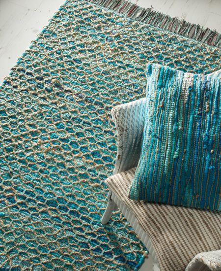 Cotton Jute Rug Braided Rugs And Cushion