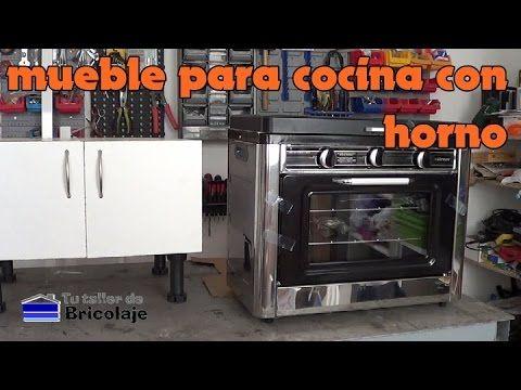 Cómo hacer un mueble para una cocina con horno   Bricolaje ...