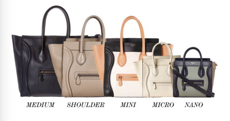 Celine Luggage Handbag Size Guide Bags Bags Bags Bags Celine
