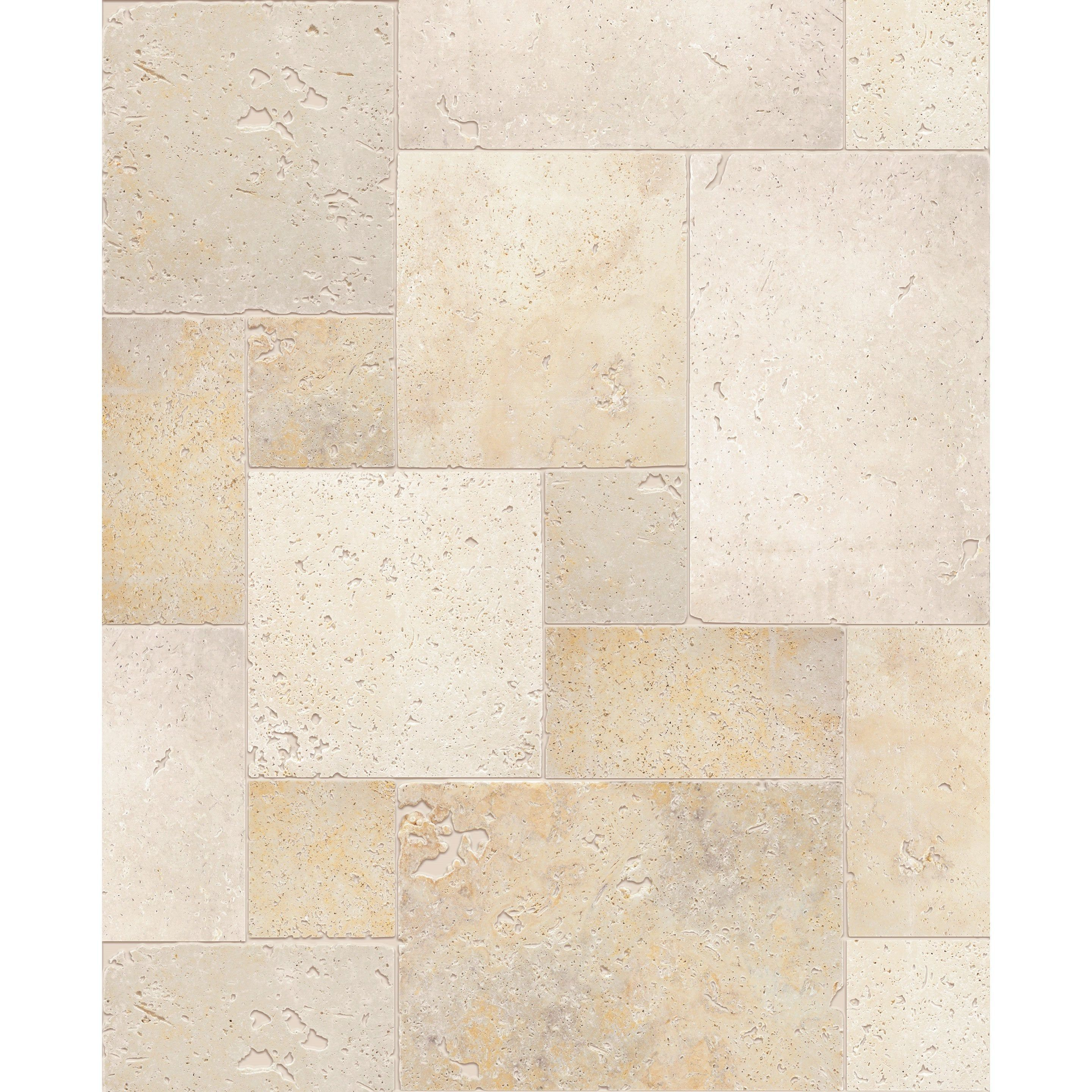 Travertin Sol Mur Effet Pierre Beige Opus Rustique Multiformat L 20 3xl 20 3cm En 2020 Travertin Sol Rustique