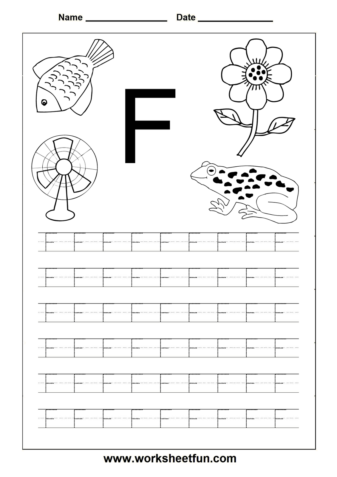 the letter f classroom alphabet writing worksheets tracing letters alphabet writing. Black Bedroom Furniture Sets. Home Design Ideas