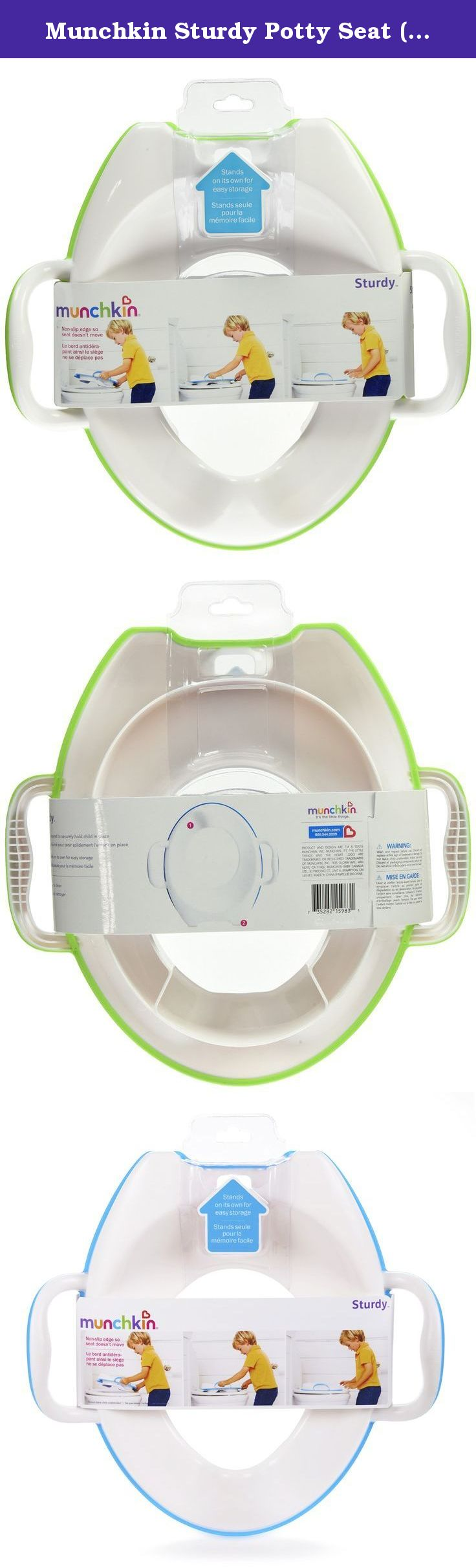 f8c3289e4 Munchkin Sturdy Potty Seat (colors vary). Calm your little one s fears of  falling