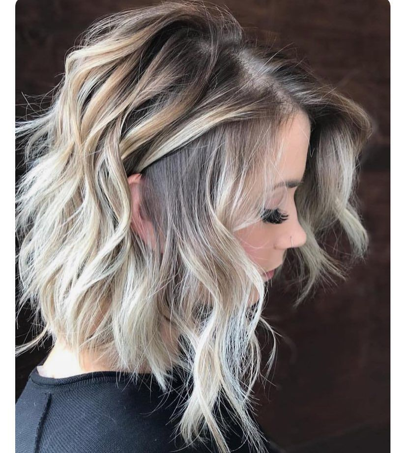 10 Wavy Shoulder Length Hairstyles 2021