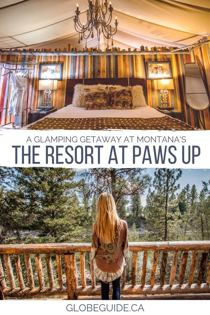 What it's like to go glamping at a Montana dude ranch – Montana travel