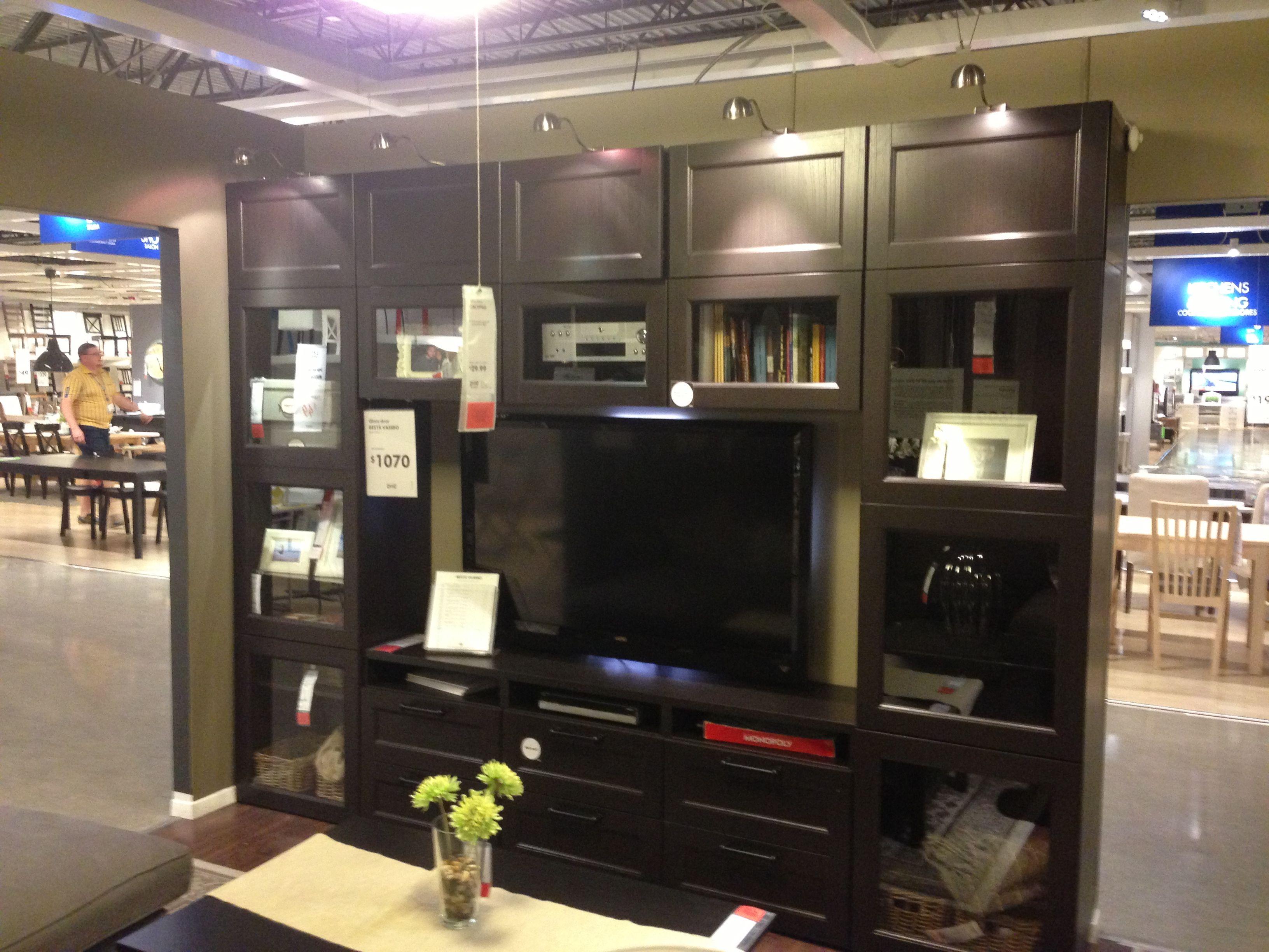 Besta wall unit | family • room | Ikea wall units, Ikea wall