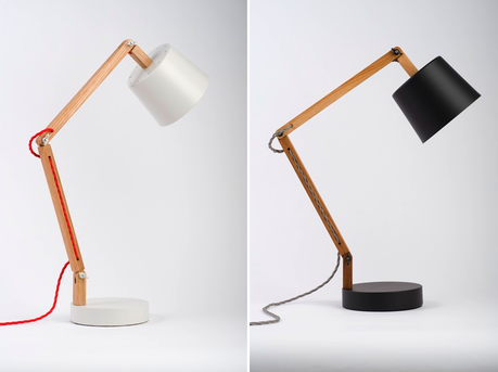 White and black work lamps
