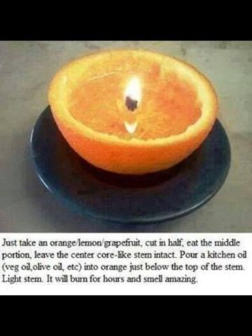 Make Your House Smelling Good, Using Your Own Fruit!