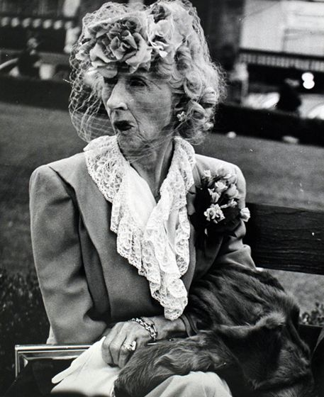 Lisette Model :: Woman in Veil, San Francisco, 1947   src / more [+] by this photographer follow link