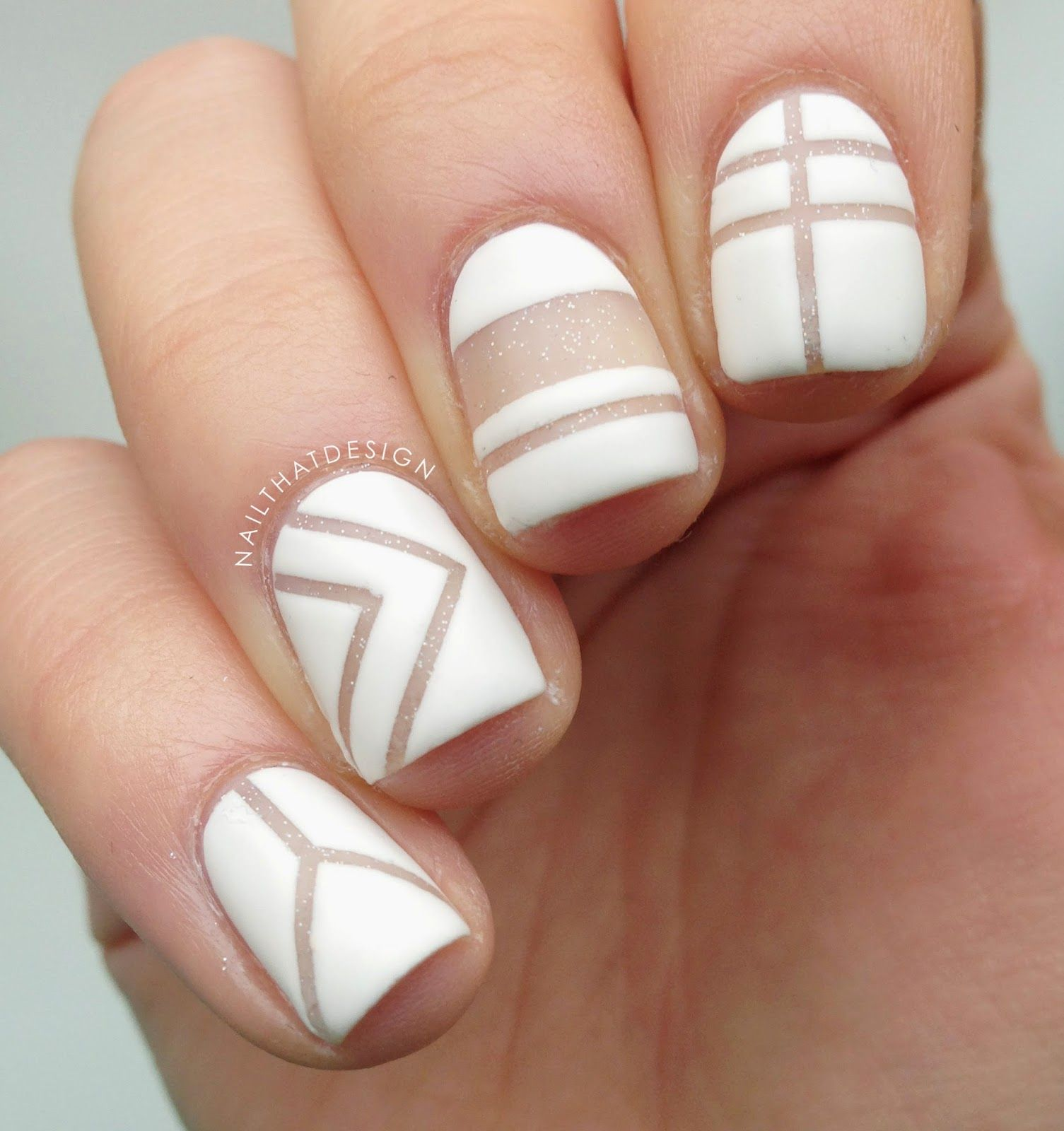 NailThatDesign: Negative Space Nail Art | Nails!! | Pinterest ...