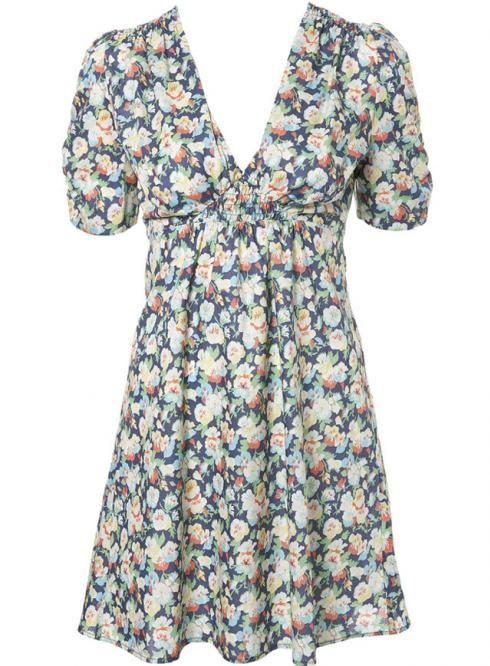 a527303ce05c Kate Moss Topshop Floral Dress | If I Wore Dresses | Floral tea ...