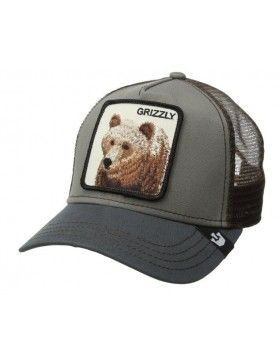 Goorin Bros. Grizz Trucker cap olive  05db86ec54f