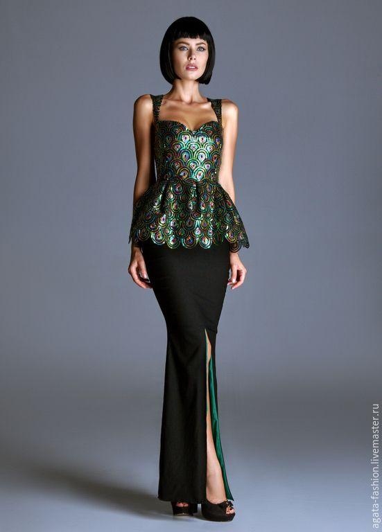 Вечернее платье из паеток купить