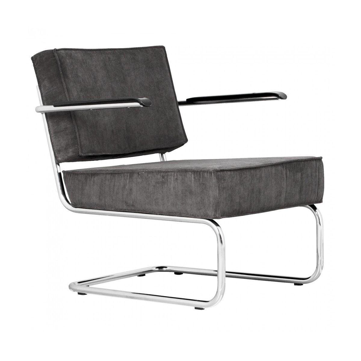 Ridge Lounge Rib Armchair Zuiver Woo Design Armchair Chair Patio Chair Cushions