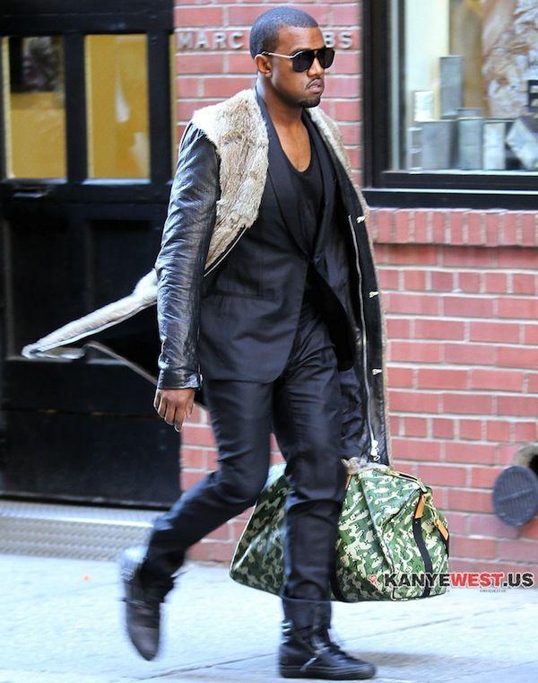 Kanye West In 3 1 Phillip Lim Journey Coat Kanye West Style Kanye Fashion Kanye West