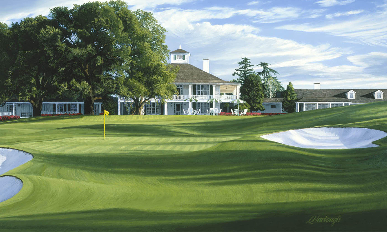 "The 18th Hole, ""Holly"" Augusta National Golf Club Golf"