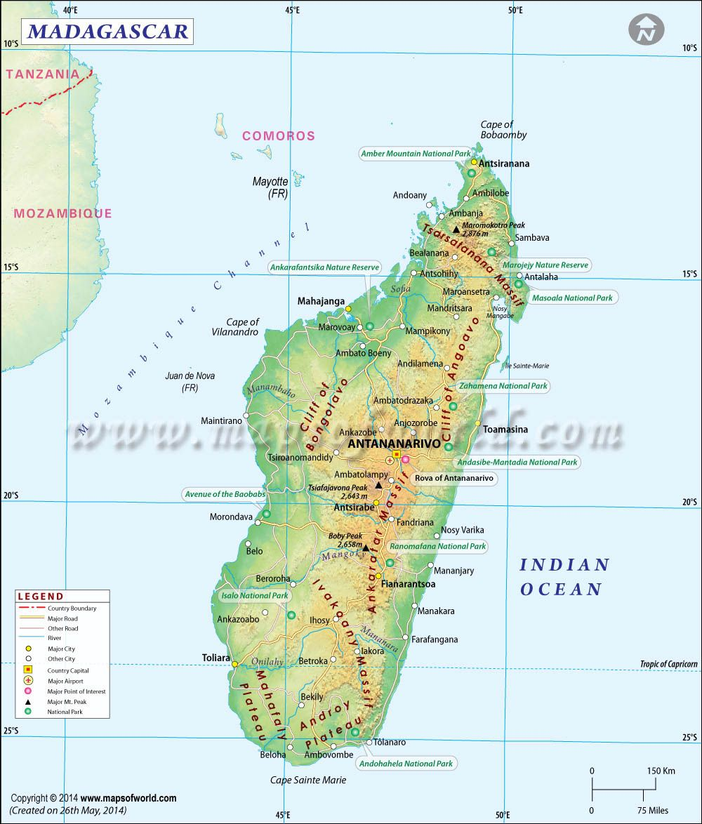 Madagaskar Karte Nationalparks.Madagascar Map Maps In 2019 Map Of Madagascar Map Madagascar