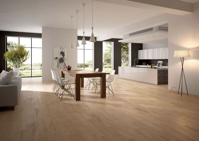 Carrelage imitation parquet id es pour l 39 int rieur for Carrelage imitation travertin interieur