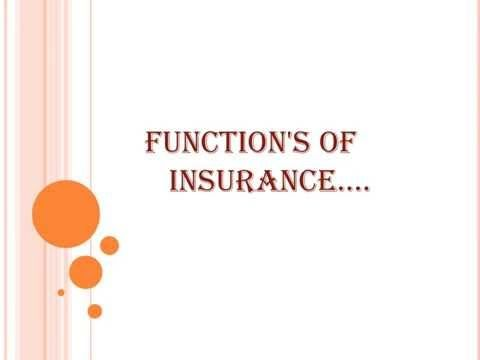 Functions Of Insurance What Is Insurance Functional Definition