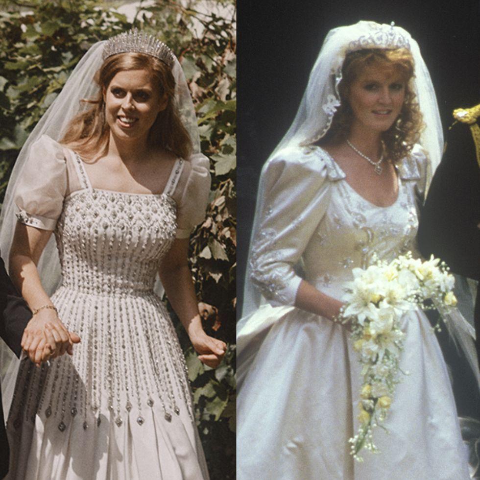 Princess Beatrice S Wedding Dress Pays Tribute To Her Mom Sarah Ferguson S Bridal Look Royal Wedding Gowns Princess Beatrice Wedding Royal Wedding Dress [ 980 x 980 Pixel ]