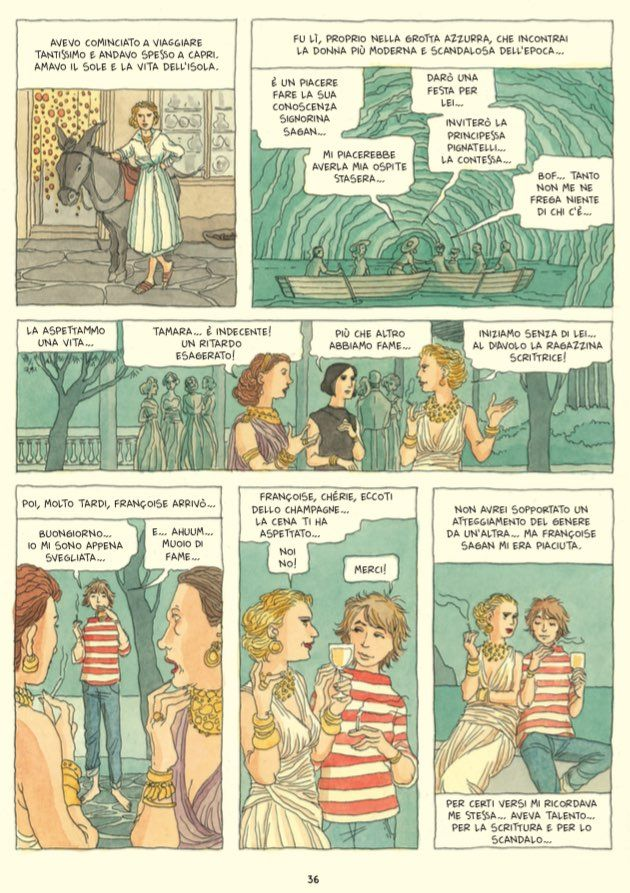 Ad aprile 24 Ore Cultura pubblicherà Tamara de Lempicka, una biografia a fumetti della famosa pittrice polacca realizzata da Vanna Vinci, già autrice della striscia umoristica...