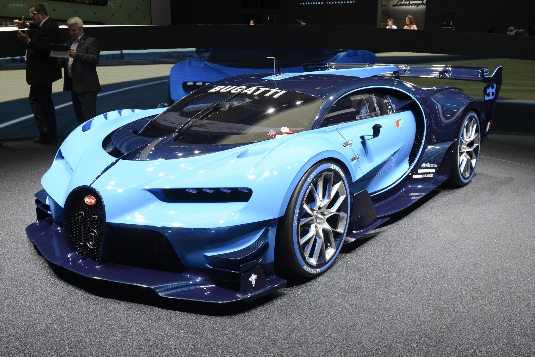 Gran Turismo 6 No Salao Conheca Os Conceitos Da Bugatti E Da