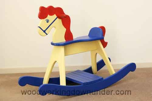 Easy Build Rocking Horse Plans From Woodworkingdownunder Com Misc