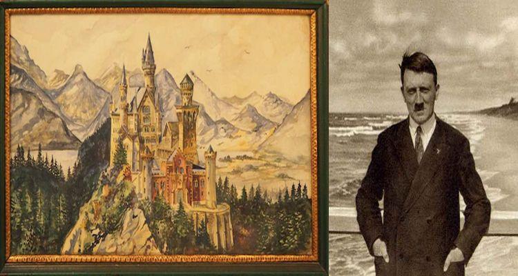 Hitler'in Tabloları 400 Bin Euro  http://724kultursanat.com/hitlerin-tablolari-400-bin-euro/ #hitlertabloları #ressamhitler #painting #resim #724kultursanat