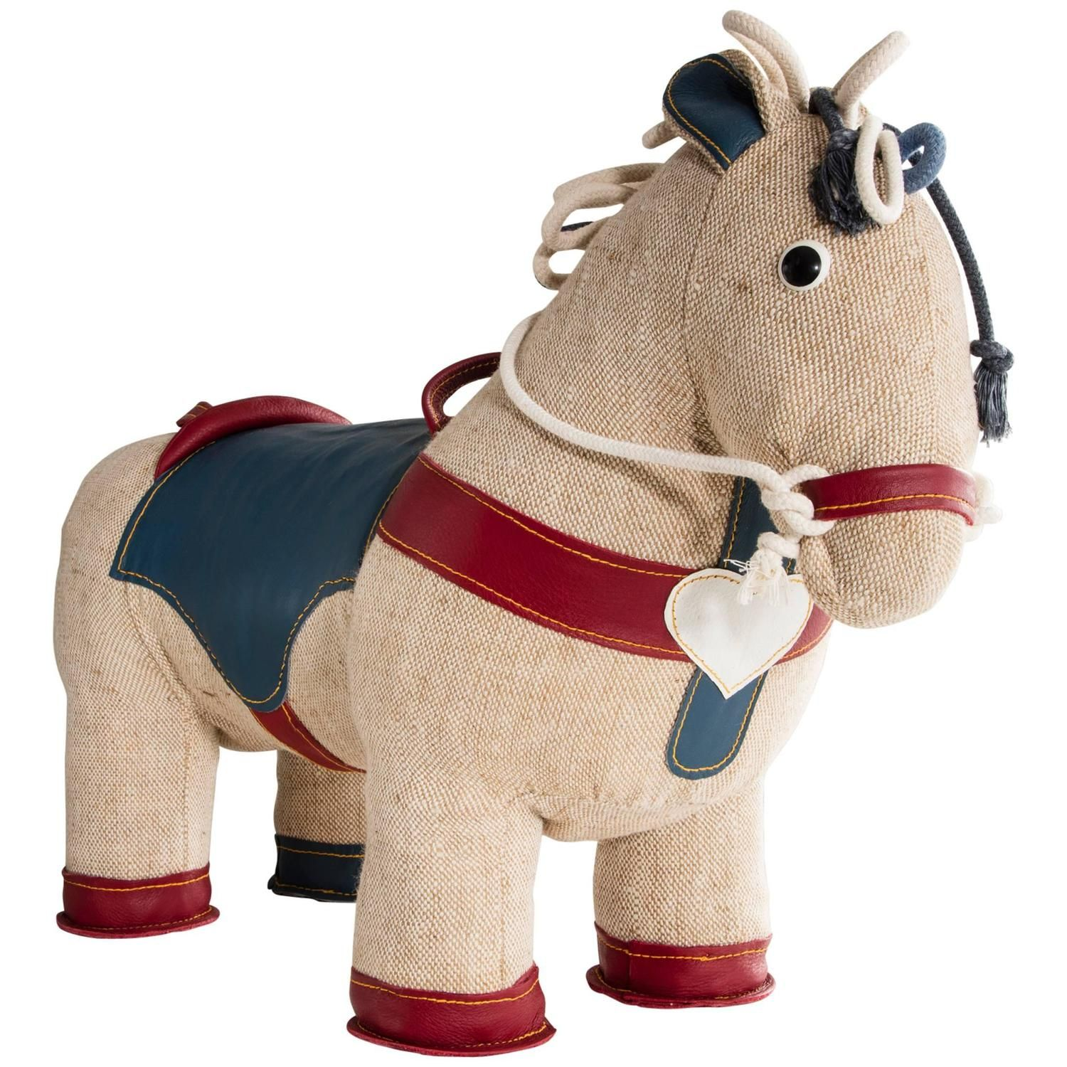 Therapeutic Toy Pony by Renate Muller, Germany, 2015   From a unique collection of antique and modern toys at https://www.1stdibs.com/furniture/more-furniture-collectibles/toys/