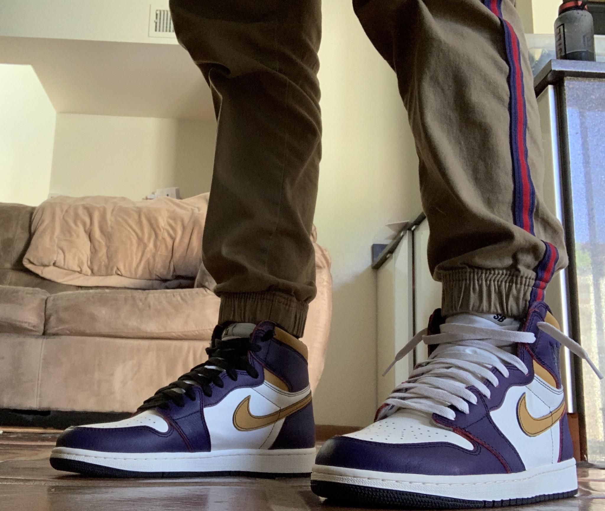 La To Chicago On Feet Air Jordans Jordan 1 Sneakers Nike