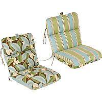 Replacement Patio Chair Cushion Patogoni Latte Sam S Club Outdoor Patio Chair Cushions Patio Chair Cushions Patio Cushions Outdoor